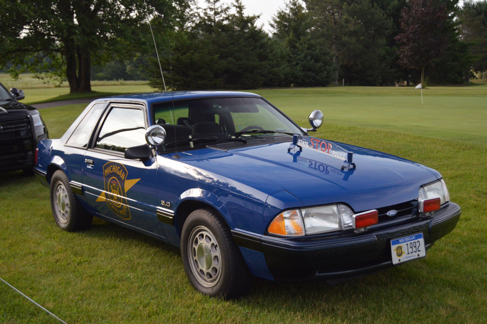 Old Michigan State Police Cruiser